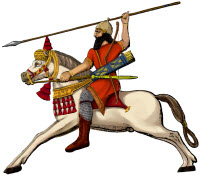 Bible Warrior on Horseback